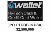 iwallet - hi-tech cash and credit card wallet